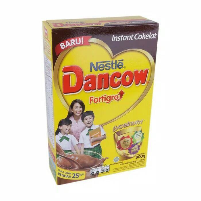 Dancow Fortigo Instant Coklat 800 Grm By Maniac Shopping.