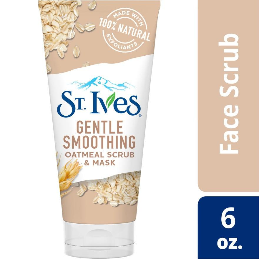 ST. IVES Gentle Smoothing Oatmeal Face Scrub   Mask cca7e8c993