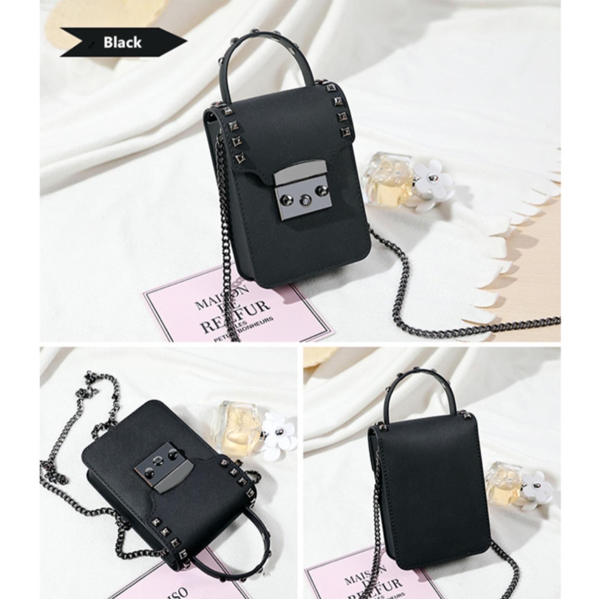 Fashionity New Mini messenger Bag - Jelly Pouch - Tas Wanita -  Tas Mini Jelly