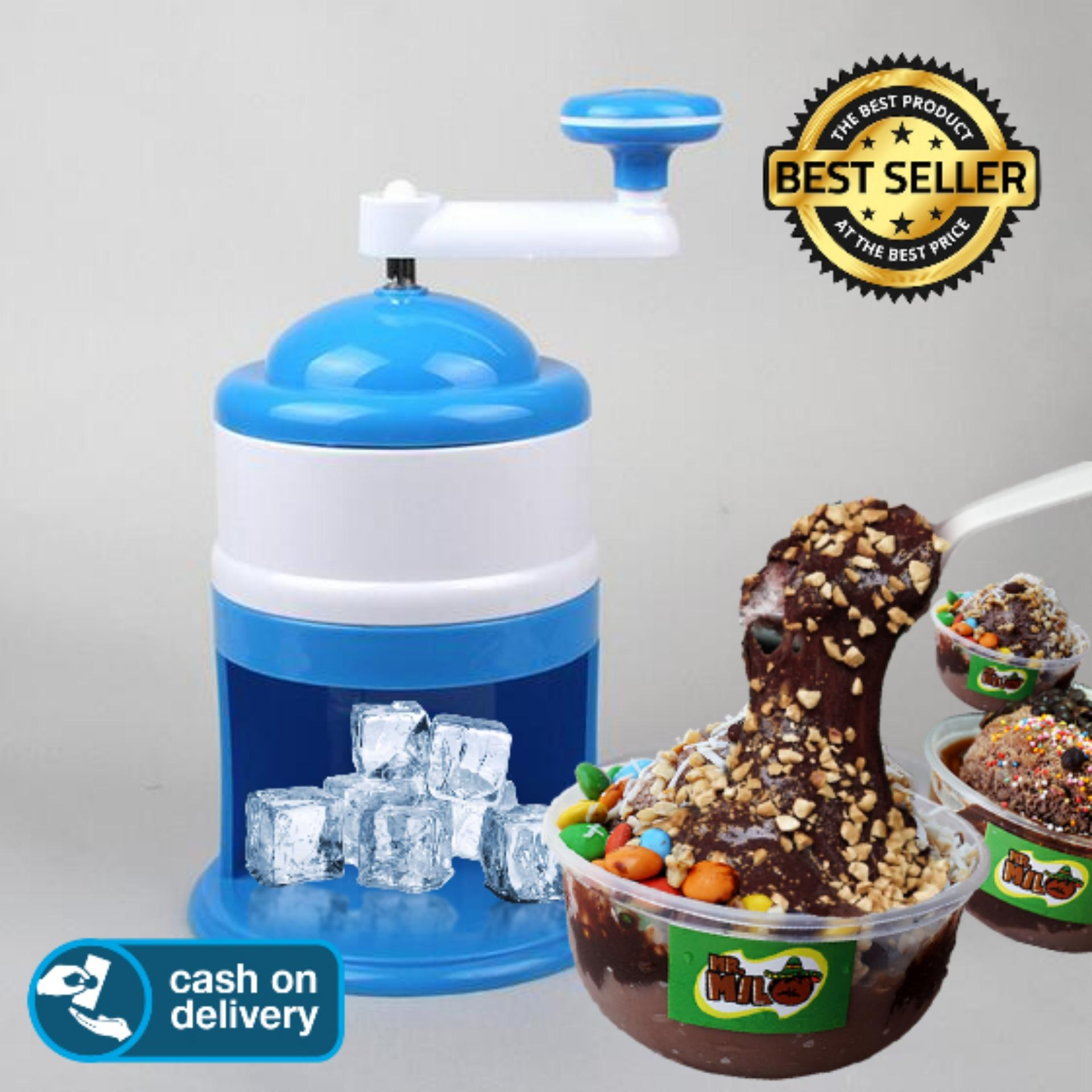 Big King Shop - Mesin Alat Serutan ES KEPAL MILO Es Batu Portable ICE CRUSHER /
