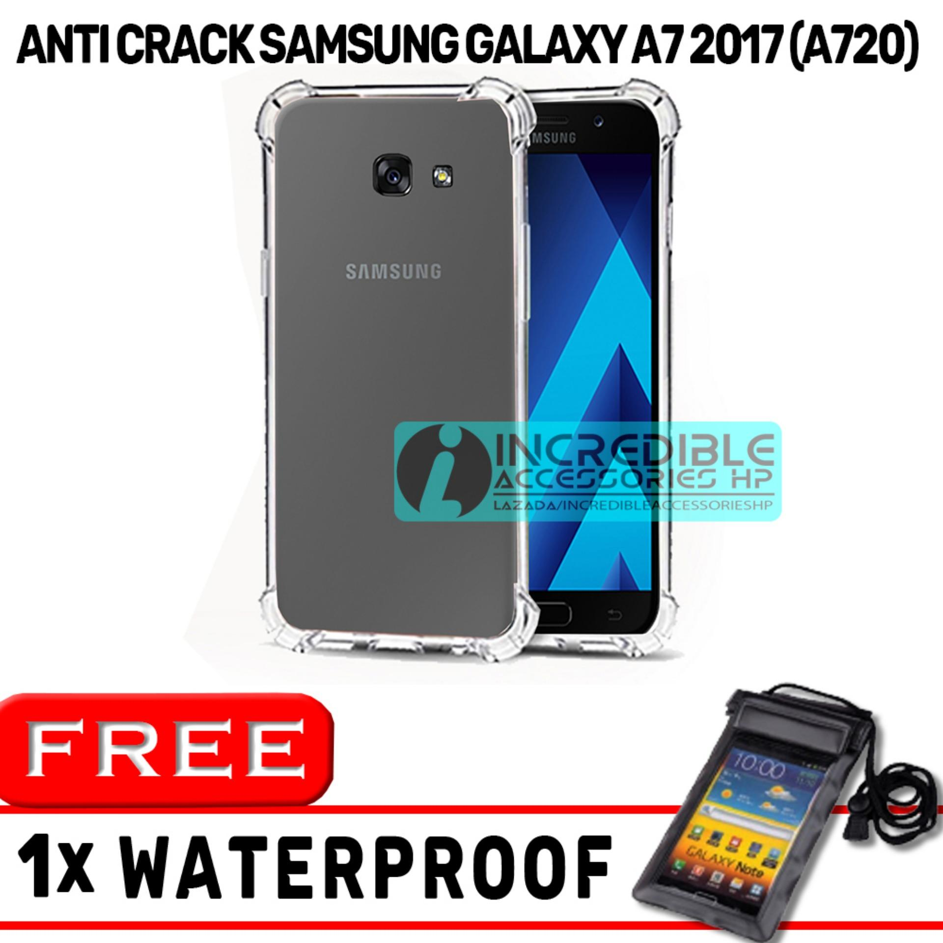 Anti Crack for Samsung Galaxy A7 2017 A720 Softcase Elegant Anti Shock Jelly Case