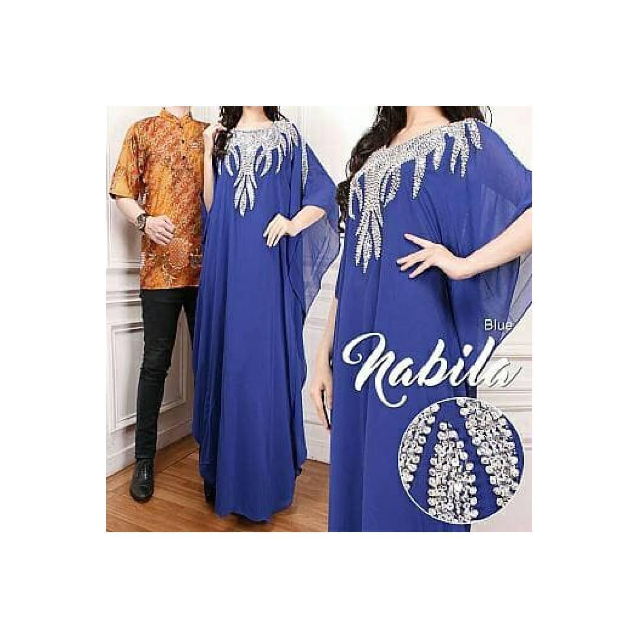 couple kaftan nabila 21 - koko batik dan maxi dress