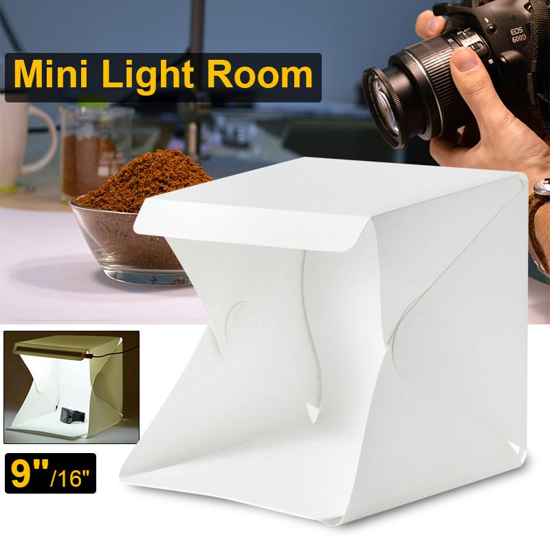 Light Room Photo Studio 9 Photography Lighting Tent Kit Mini Cube Box Lf755 By Xcsource-Id.