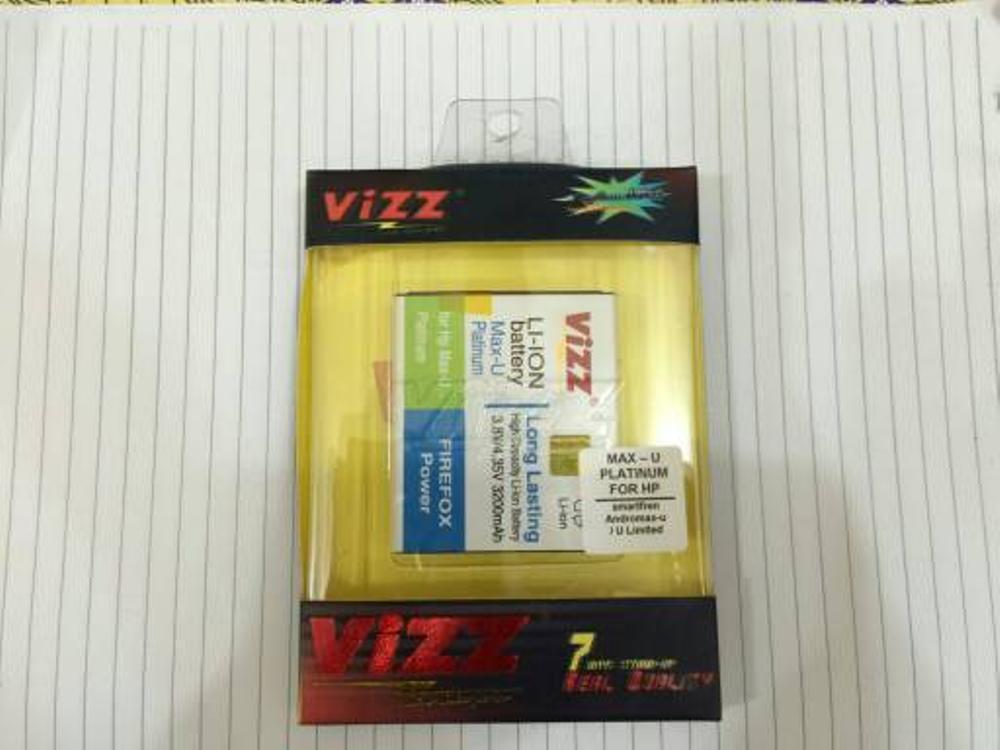 Andromax U Smartfren 3000Mah Battery / Baterai Vizz Double Power Max-U TPRND