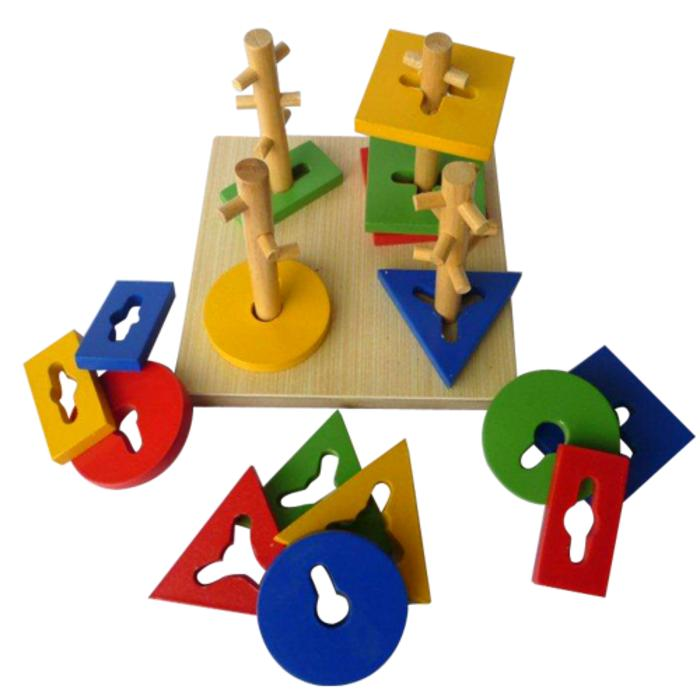 Mainan Edukatif/Edukasi Anak-Menara Kunci 4