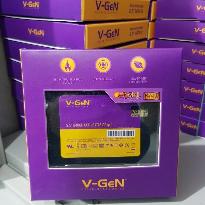 SSD Solid State Drive V-GeN 240GB SATA 3