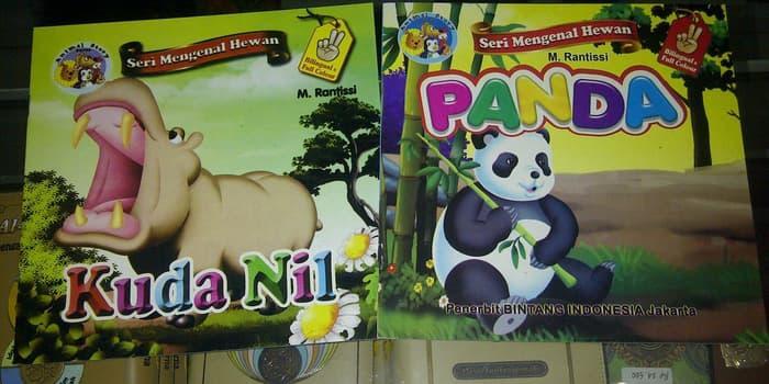 Buku Anak, buku cerita Seri Mengenal Hewan, Animal Stor