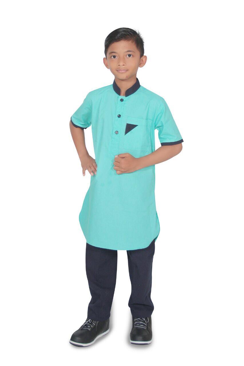 Elghan Setelan baju koko Anak pria lengan pendek- umur 1-12 tahun-Kode E01-TOSCA