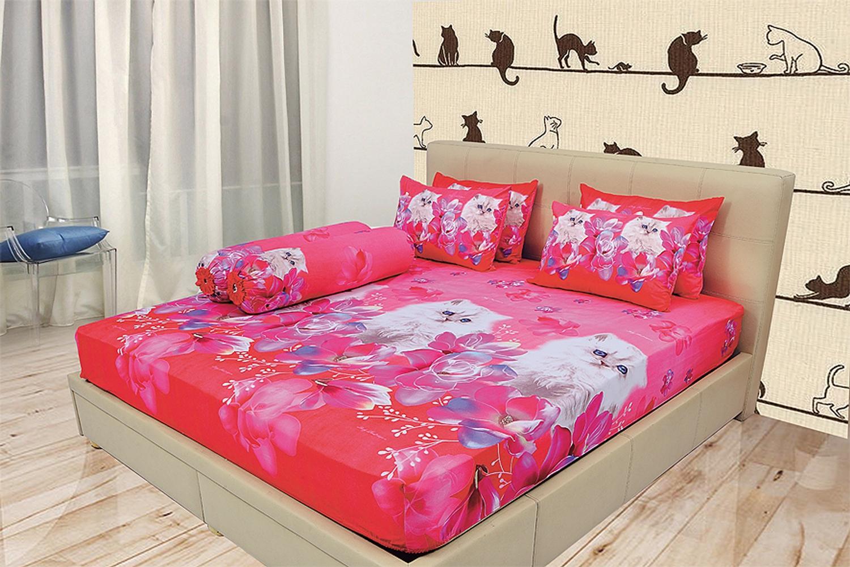 Buy Sell Cheapest Sprei King Nova Best Quality Product Deals Kintakun Dluxe 180 X 200 B2 Brown Coffe Lady Rose Bantal 2 180x200