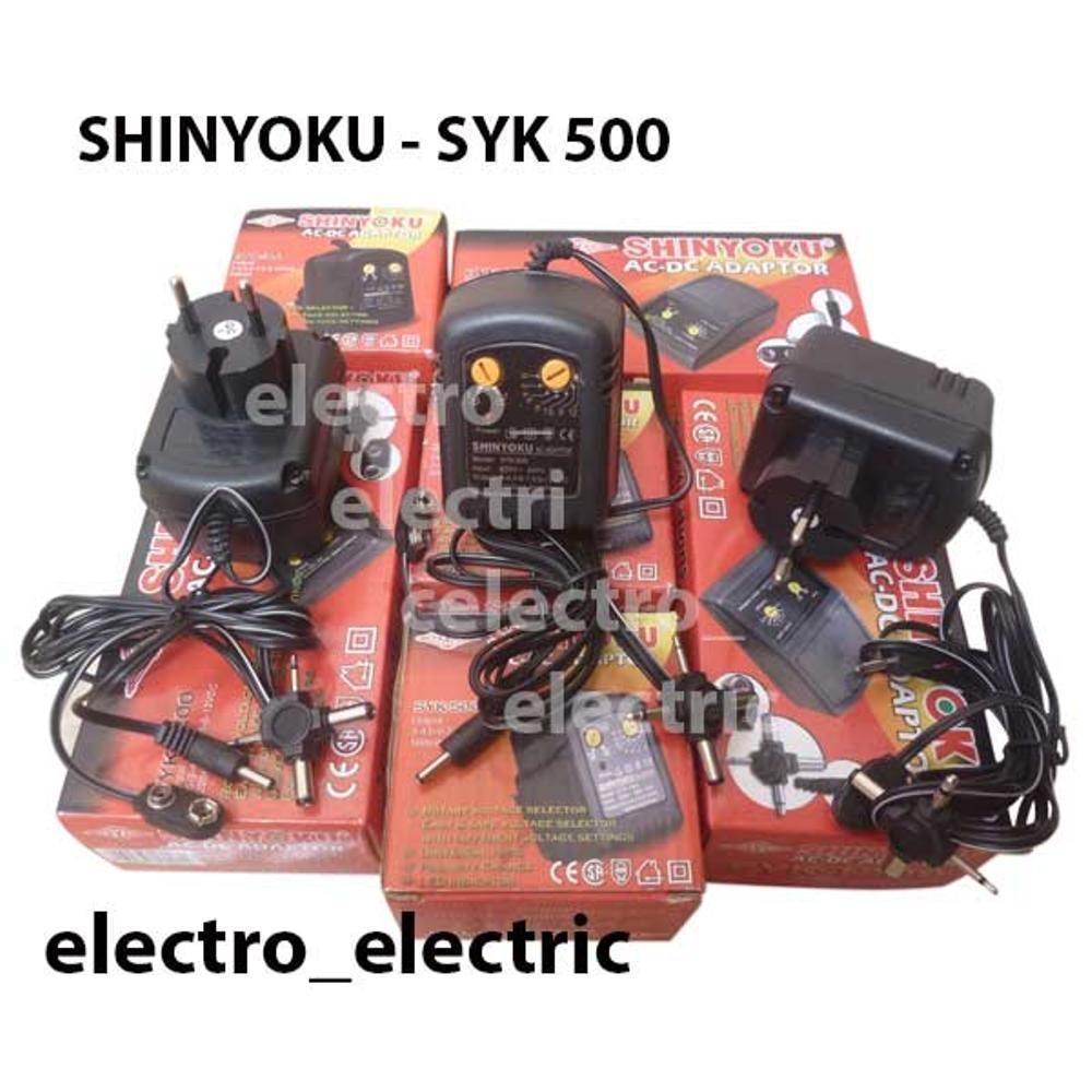 Adaptor AC-DC, Shinyoku Syk-500, 500ma