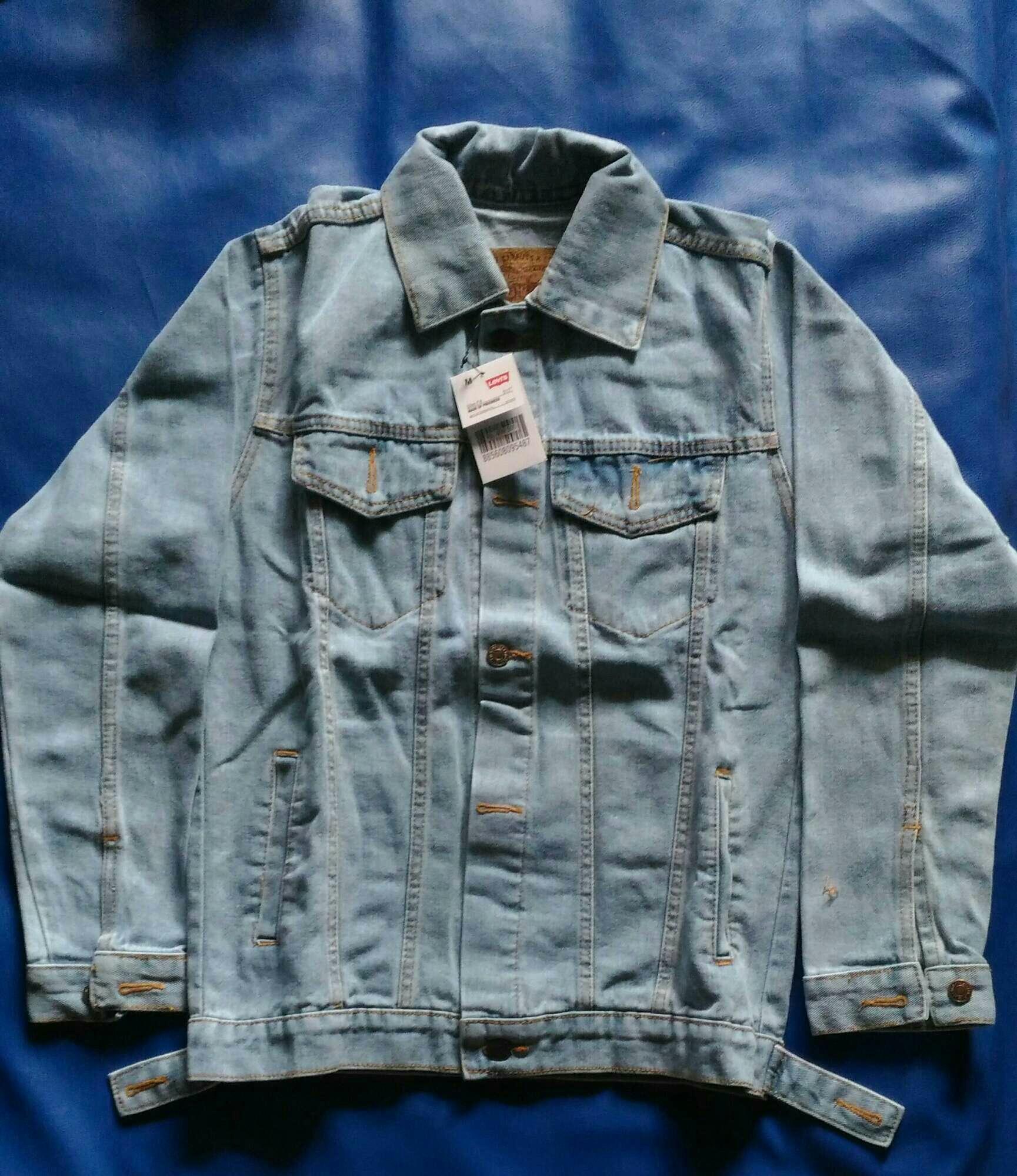 Jaket Jeans Regular BioBlitz Pria