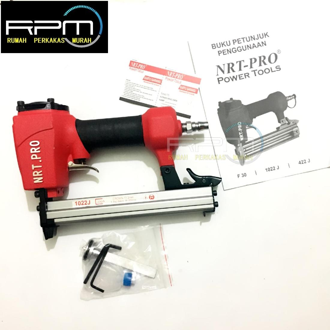 Mesin Staples Air Nailer 1022J NRT-PRO / Staples Angin Tembak Paku