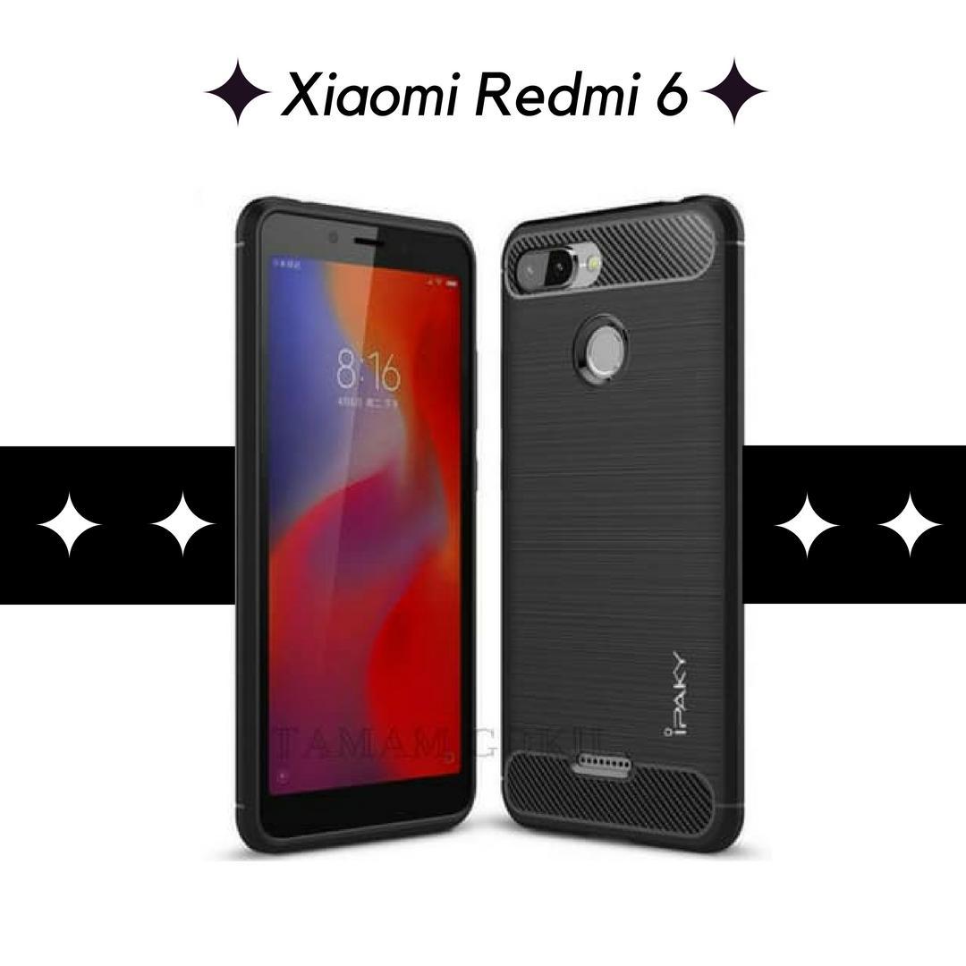 Case Xiaomi Redmi 6 Ipaky Carbon Soft Series
