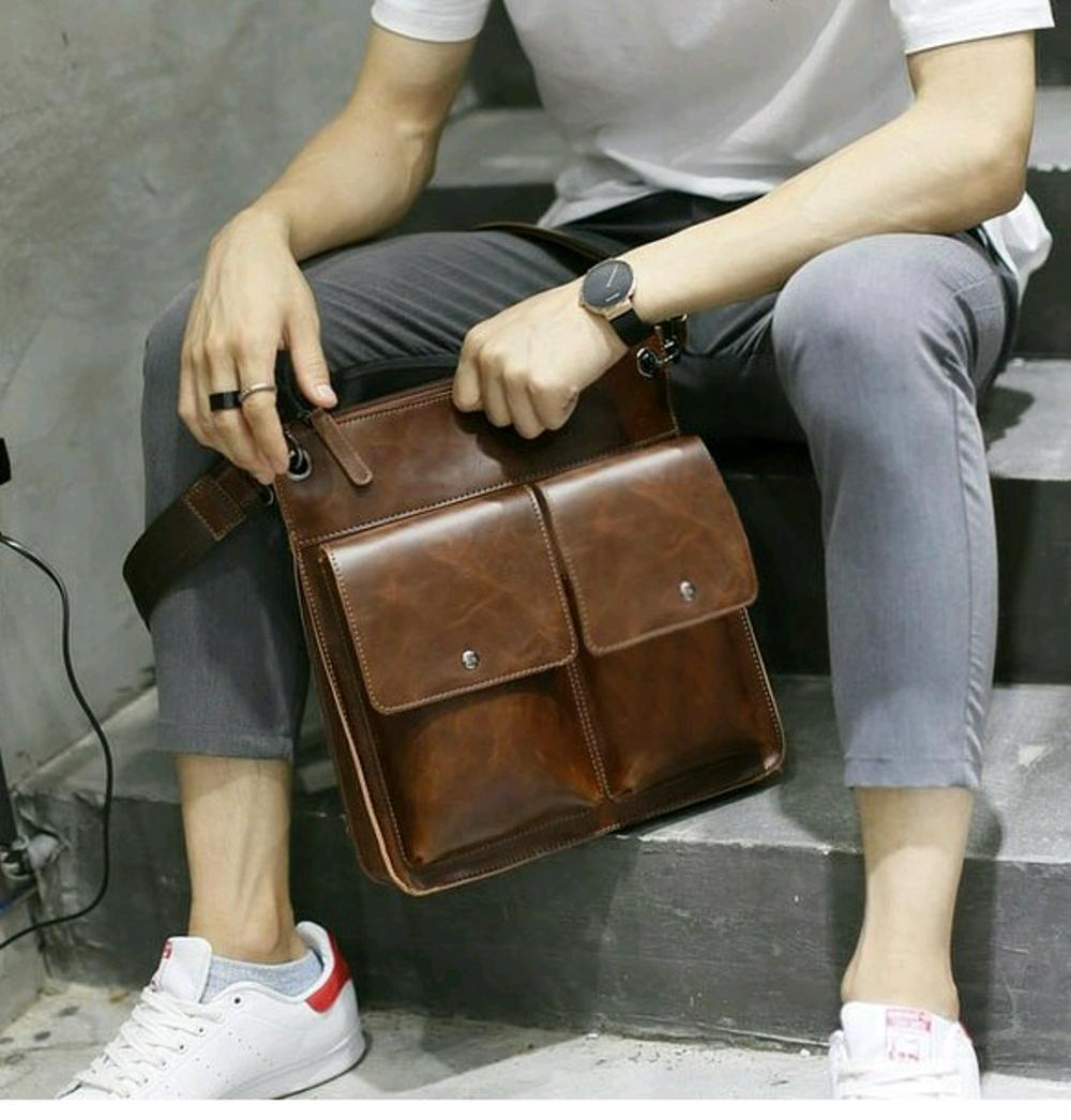 tas selempang pria wanita - tas import murah - tas branded batam - tas cewek cowok kekinian - sekolah kuliah hp ipad tablet  di lapak pelangi_bag bagusia08