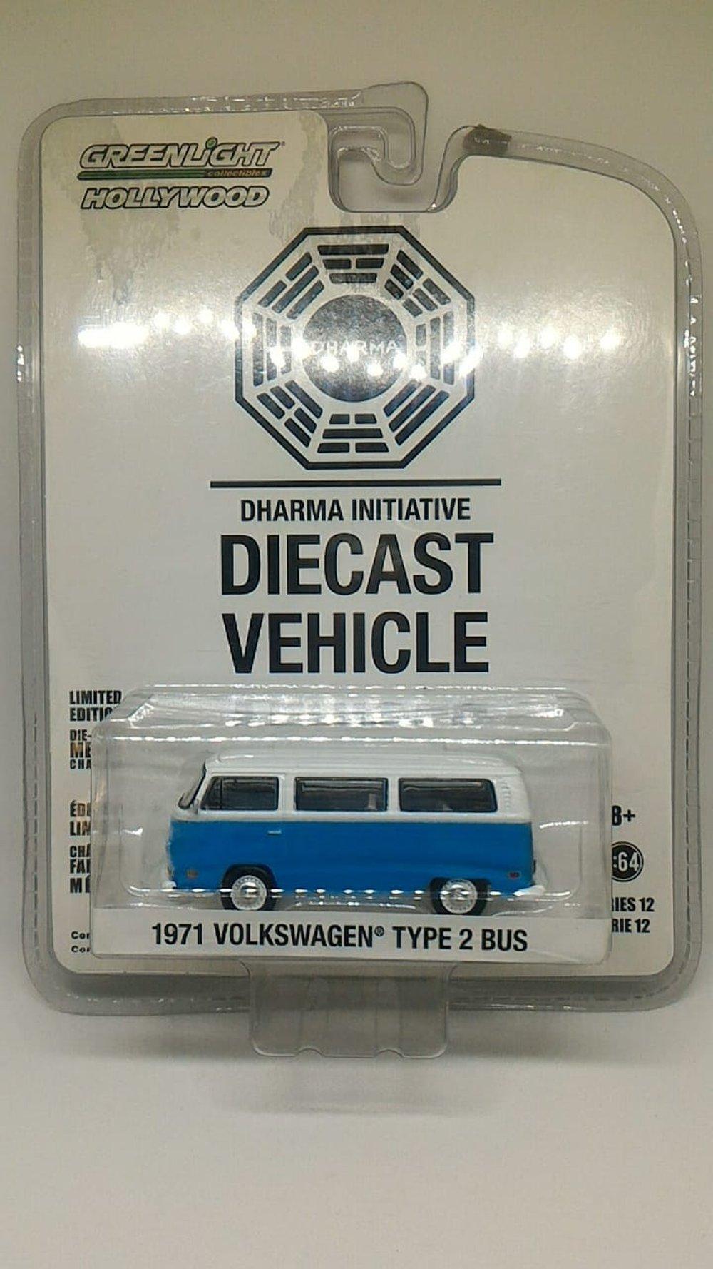 Greenlight 1971 Volkswagen Type 2 Bus Hollywood Seri