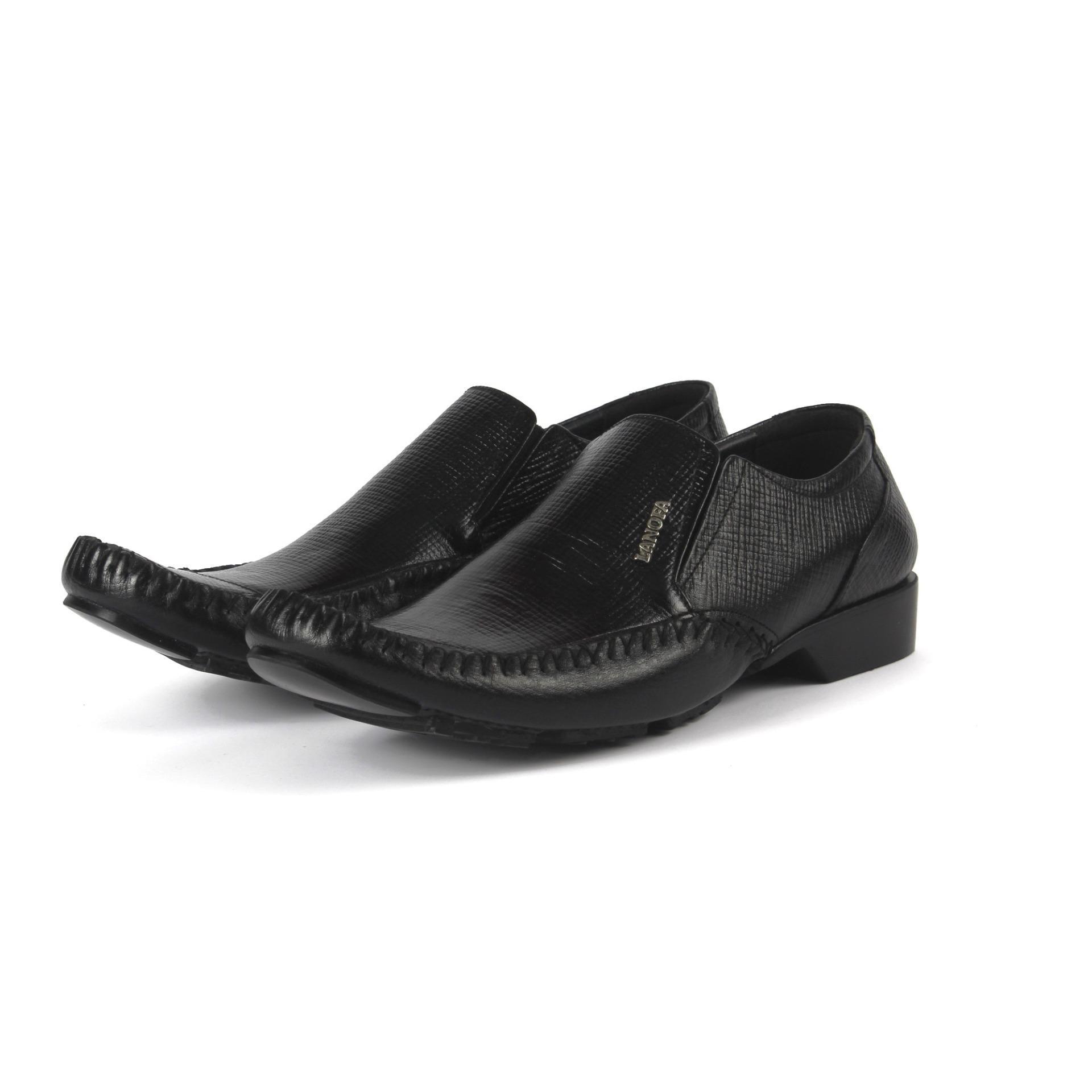 Sepatu Kulit Pantofel Pria LANOFA 1157 Kulit Sapi Asli Terbaik Di Jakarta