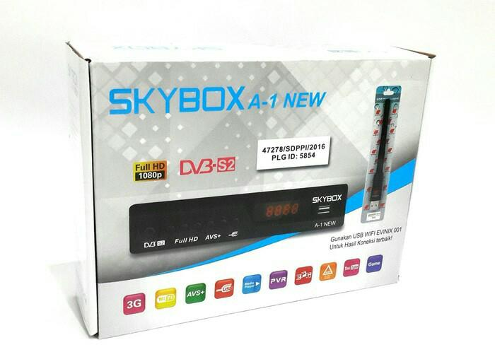 RECEIVER PARABOLA SKYBOX A-1 new Dvb S2 Full Hd Free Hdmi
