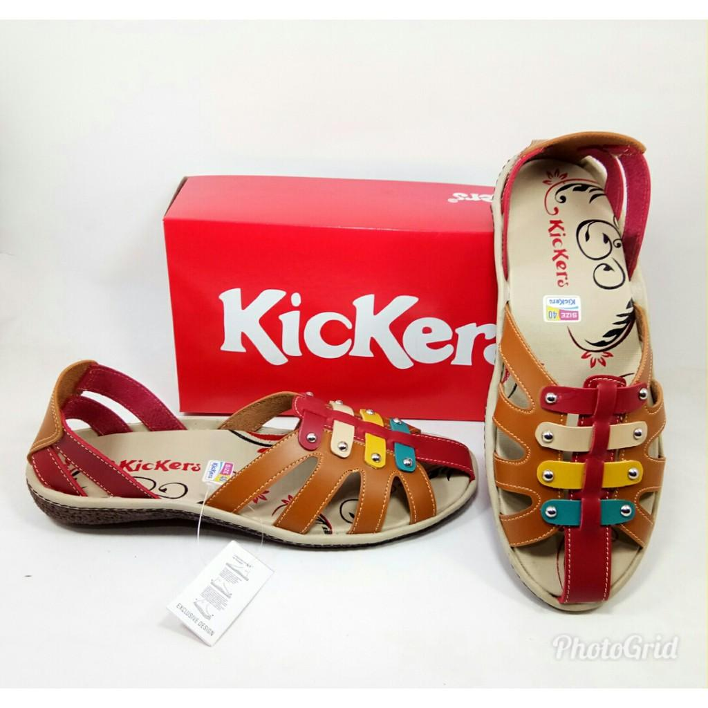 Sepatu Sandal Kickers Wanita Free Box Murah Kode MK-9