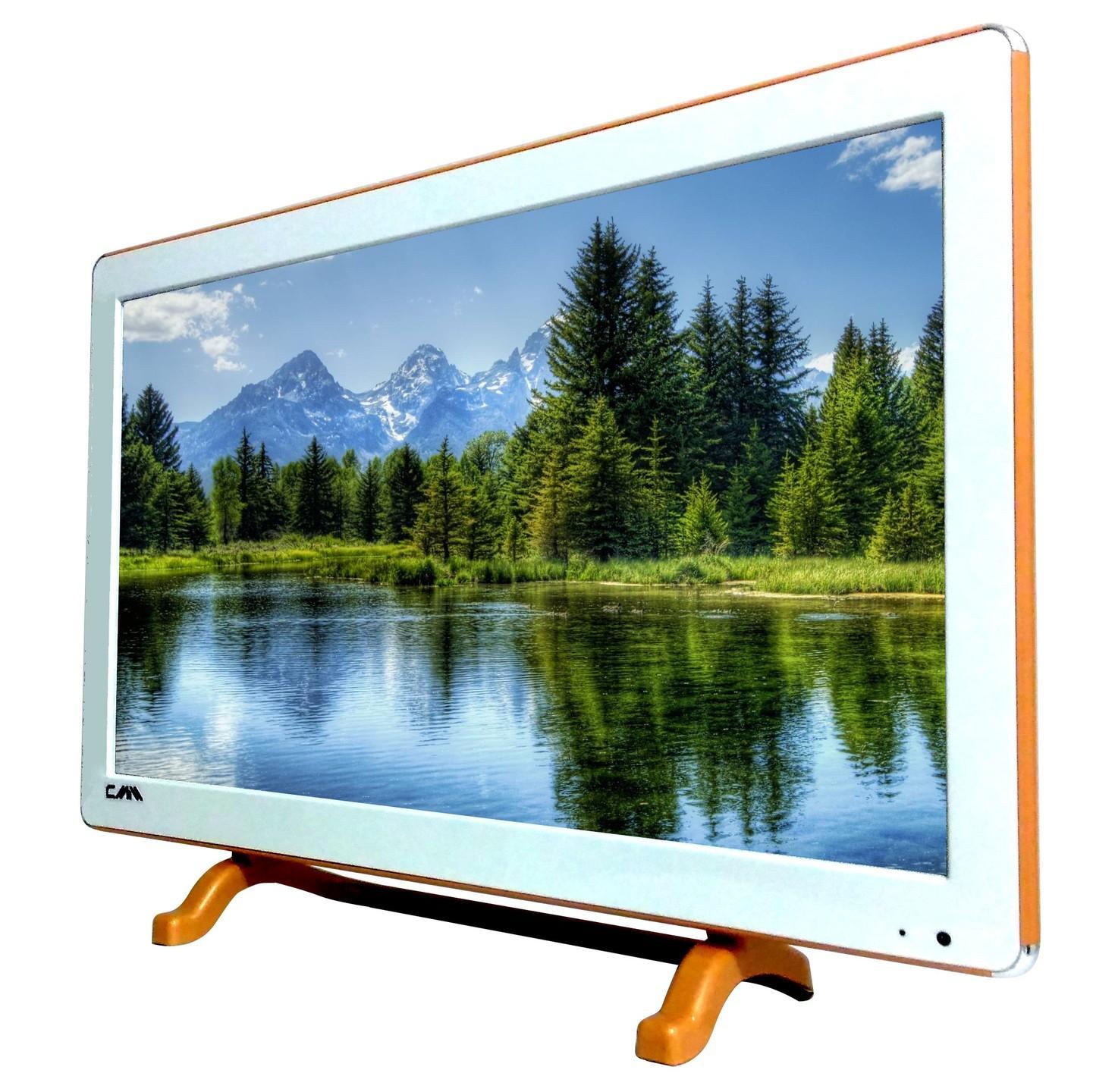 TV LED CMM 21 inch Wide / USB Movie Ready / Putih / Fitur Lengkap / Murah