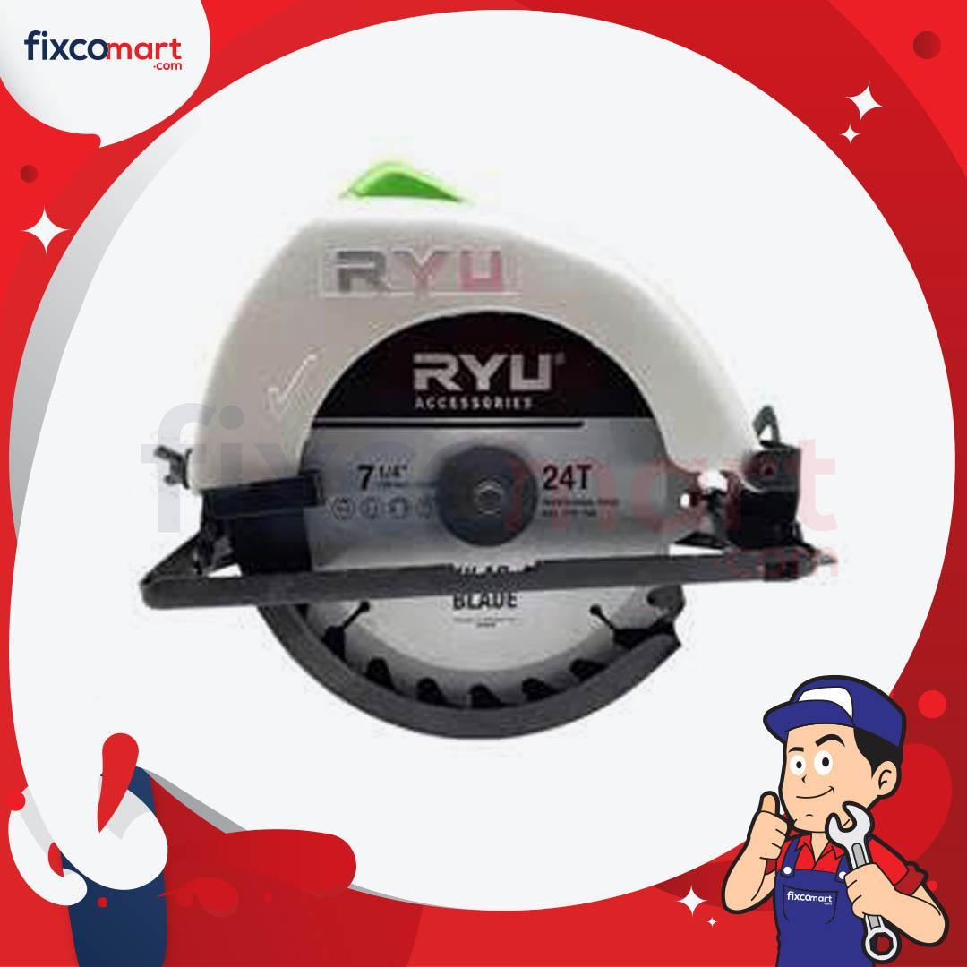 Jual Gergaji Listrik Terbaru Mata Potong Kayu 4 Inch Fujiyama Multi Cutter Fixcomart Ryu Circular Saw Rcs 185 1 Mesin 7