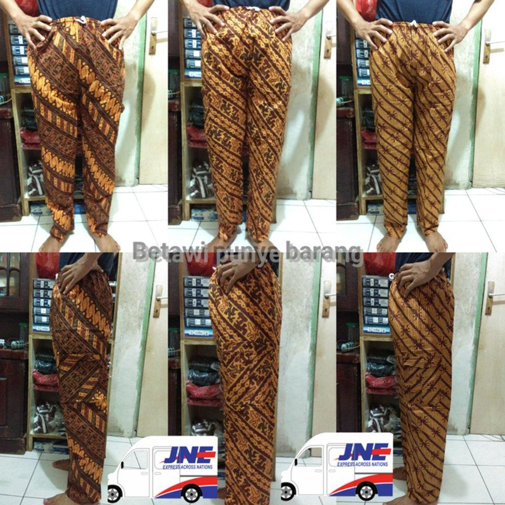 celana panjang batik Betawi celana Boim untuk dewasa di lapak Risky jersy 99 rohmat_sahid