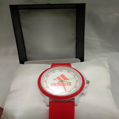 Jam tangan anak anak adidas merah bagus