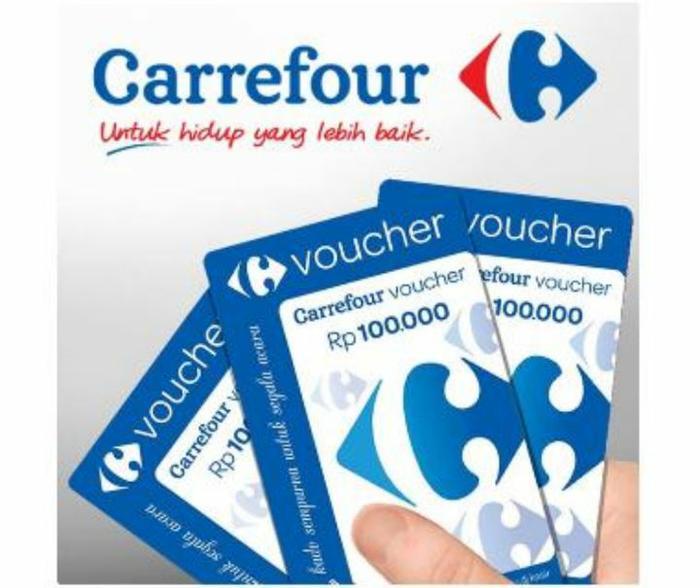 Promo Voucher Carefour 100 original