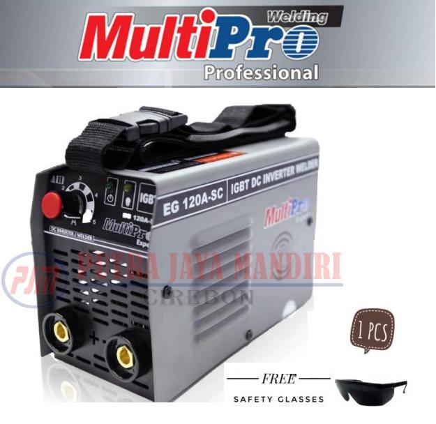 Multipro Mesin Trafo Las Inverter 450watt Expert EG120A-SC