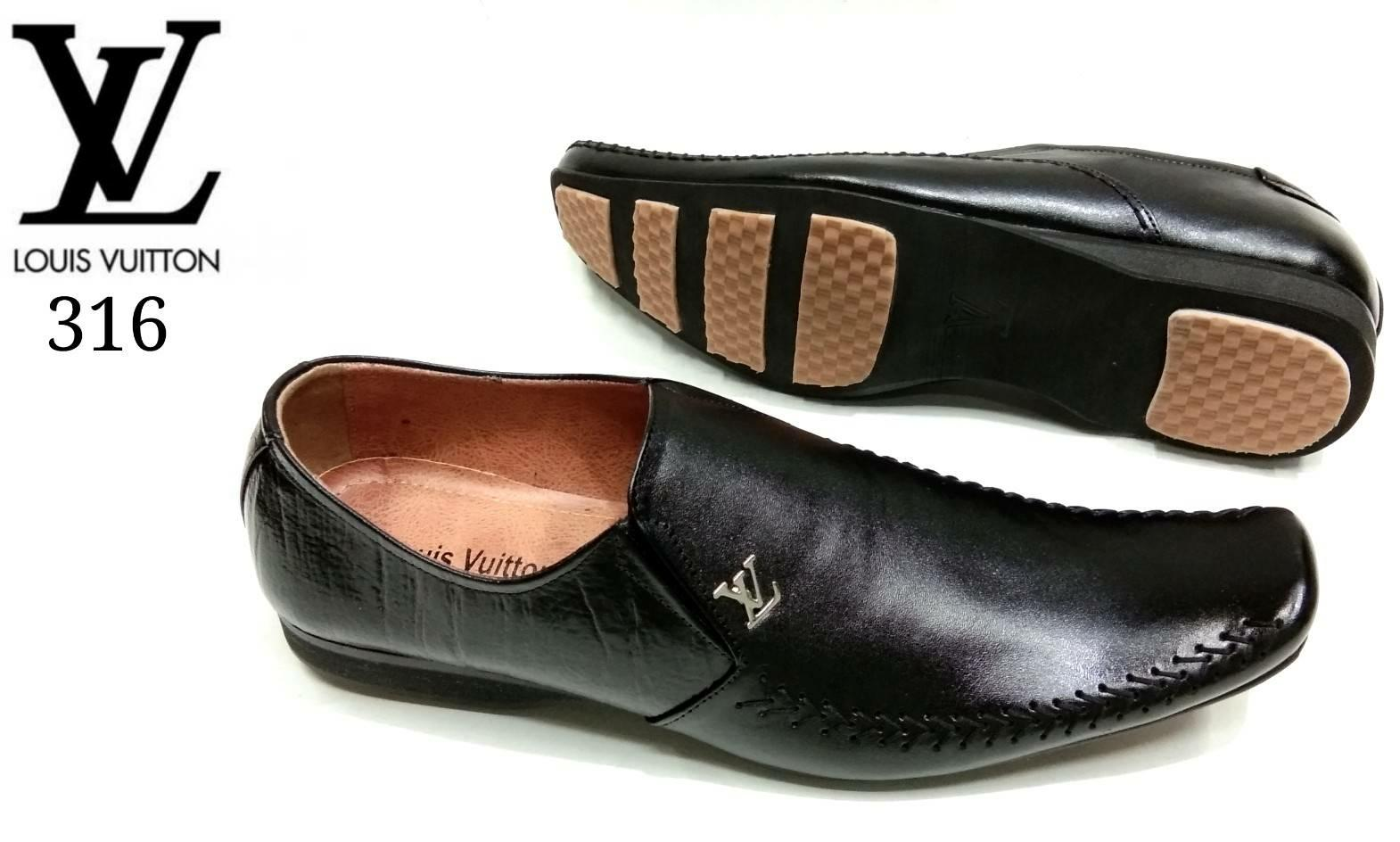 Pantofel LV 316 sepatu kerja sepatu formal pria pantopel pria #bally#kickers#louisvuitton