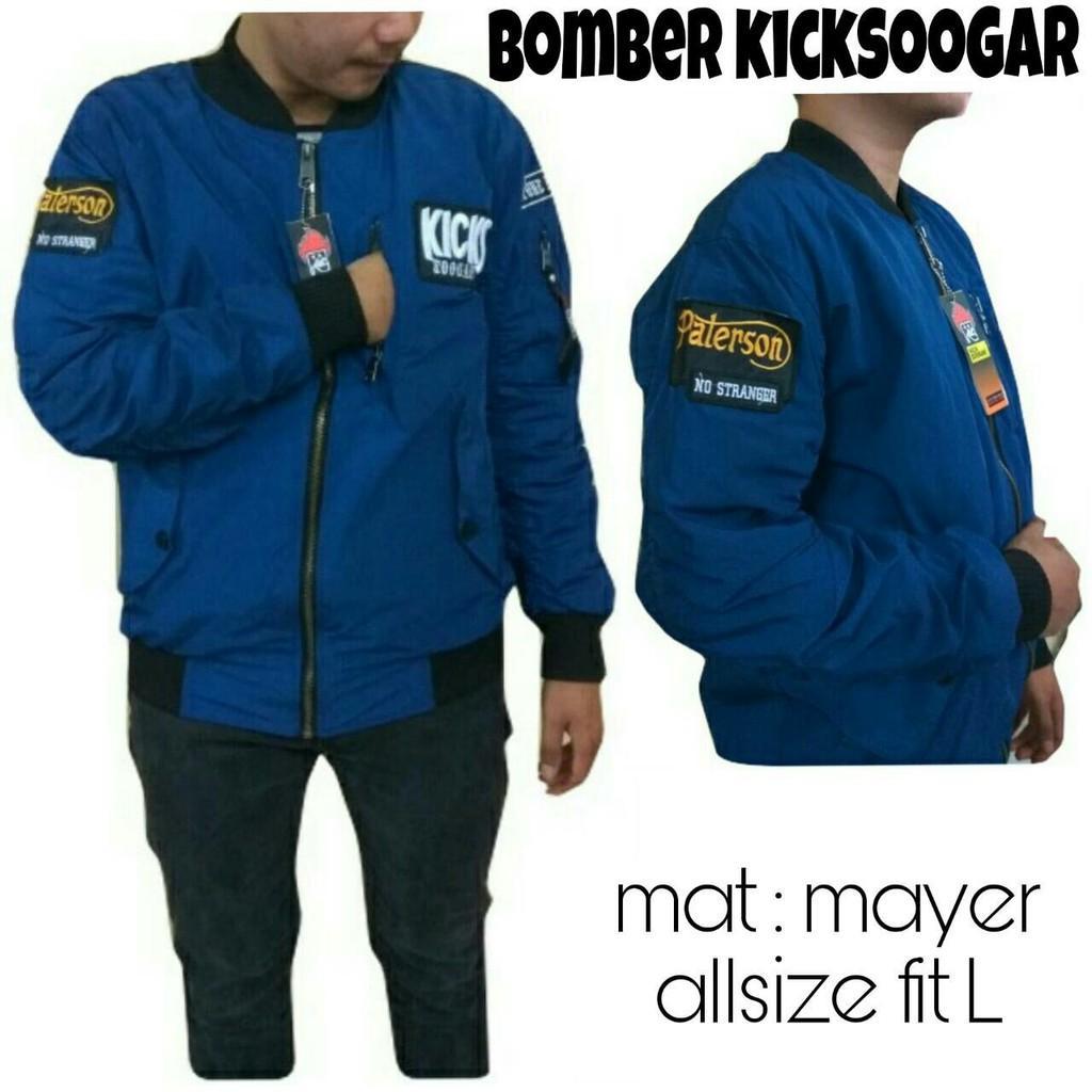 Jaket Bomber Kicksoogar