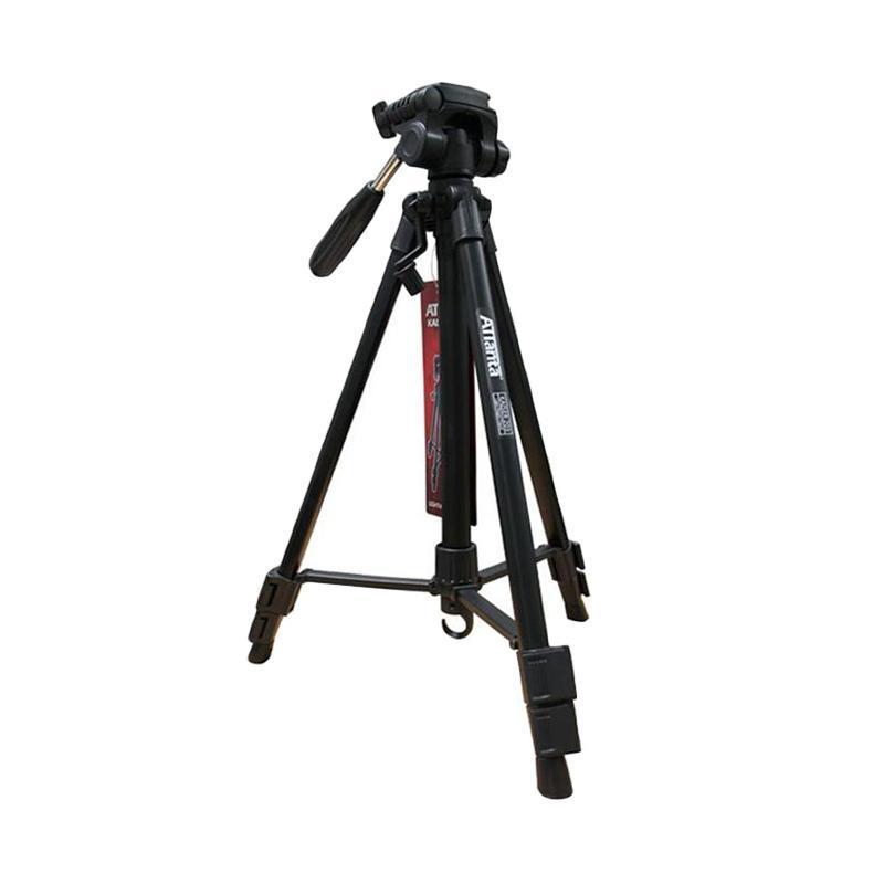 Attanta Tripod Kaiser 203 + Tas U/ Gopro, Sj4000, Sj5000 Xiaomi Yi, Bpro, Kogan, Dslr, Camera Pocket, Digicam
