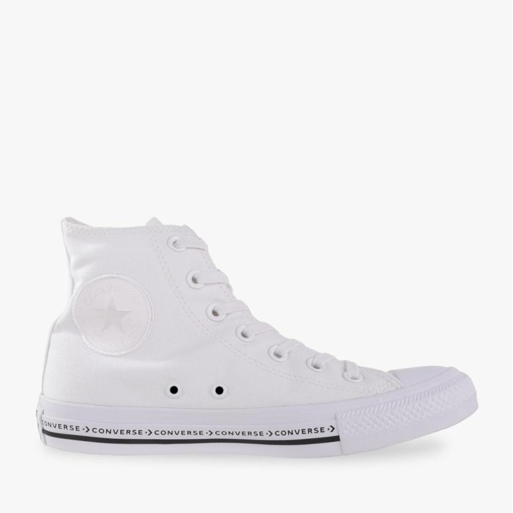Converse Chuck Taylor All Star Hi Women's Sneakers Shoes - Unisex Size - Putih
