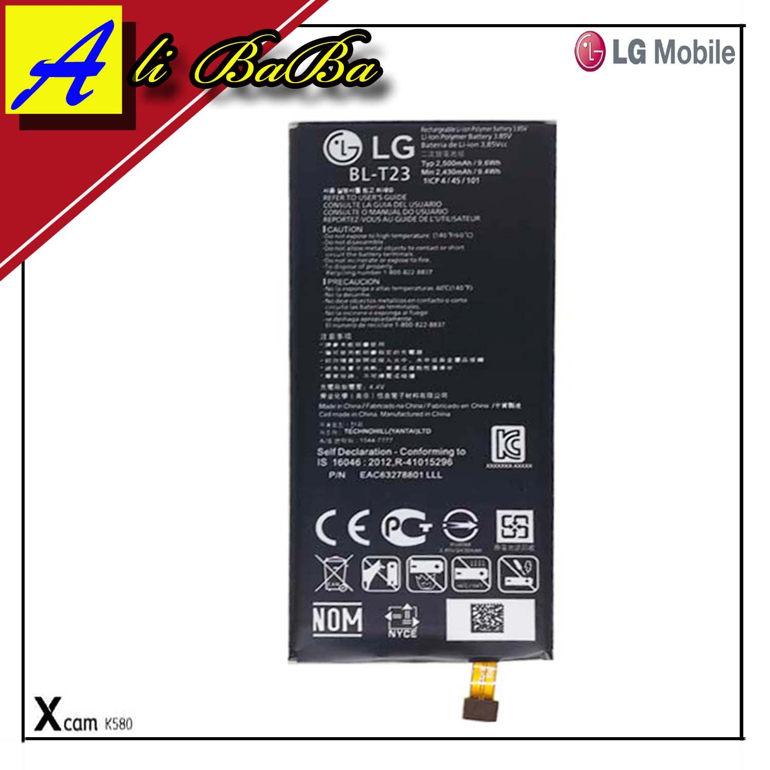 Buy Sell Cheapest Hp Lg X Best Quality Product Deals Indonesian Smartphone Xscreen K500 Resmi Indonesia Baterai Handphone Xcam K580 Bl T23 Batre Cam Battery