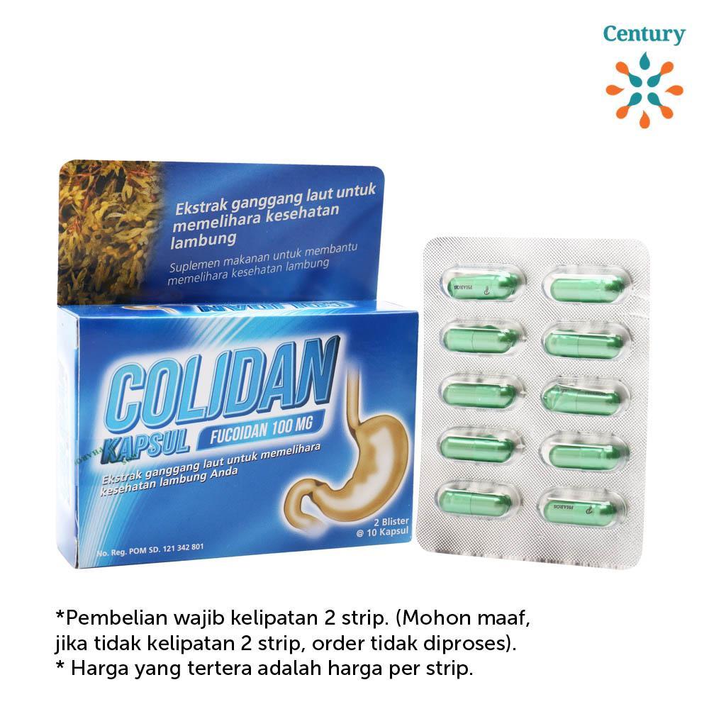 Colidan Fucoidan 100mg Kapsul By Century Healthcare