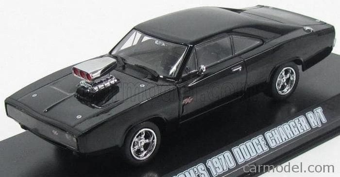 TERLARIS Greenlight 1:43 Dom's 1970 Dodge Charger R/T Fast Furious (New)