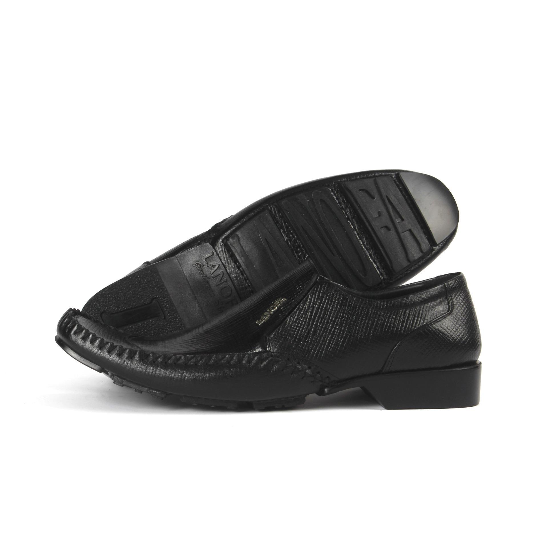 Sepatu Pantofel Pria LANOFA 1157 Tebuat Dari Kulit Sapi Asli Yang Ada Di Jakarta