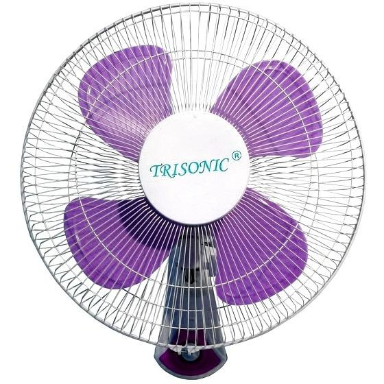 Trisonic T-1607 Wall Fan 16 inch - Kipas Angin Dinding - Tempel Tembok