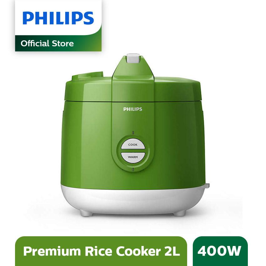Philips Daily Collection Rice cooker HD3129/30 - 2L - Hijau