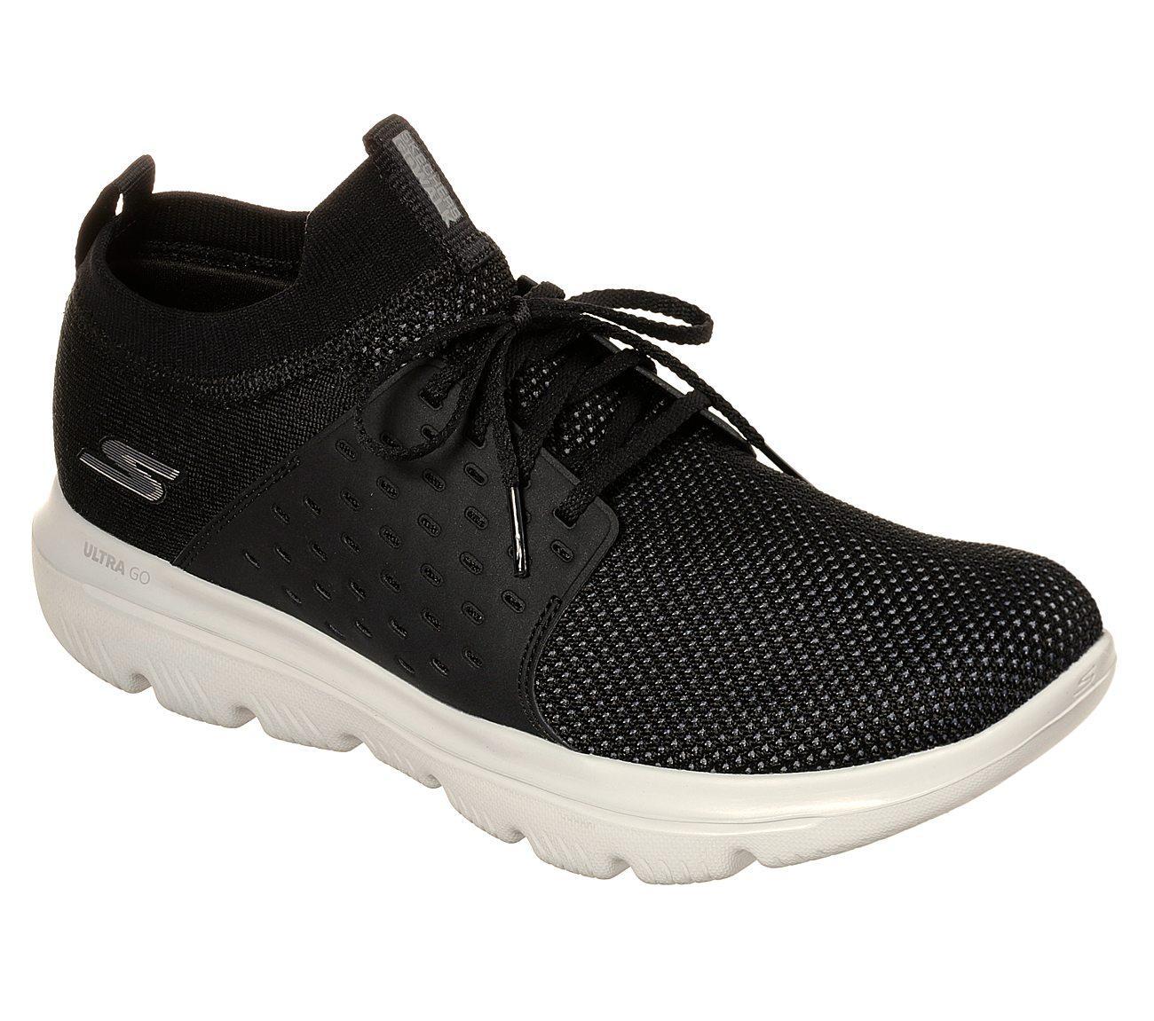 Skechers GOwalk Evolution Ultra Sepatu Sneakers Pria - Hitam 8d23d092ef