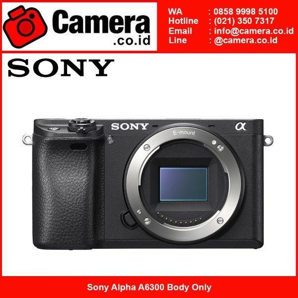Sony Alpha A6300 Body Kamera Mirrorless