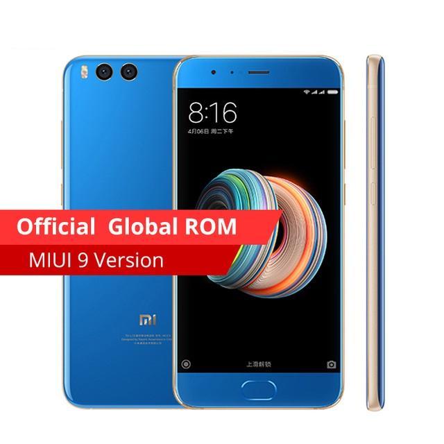 Xiaomi Mi Note 3 6GB/128GB - Blue - Garansi 1 Tahun