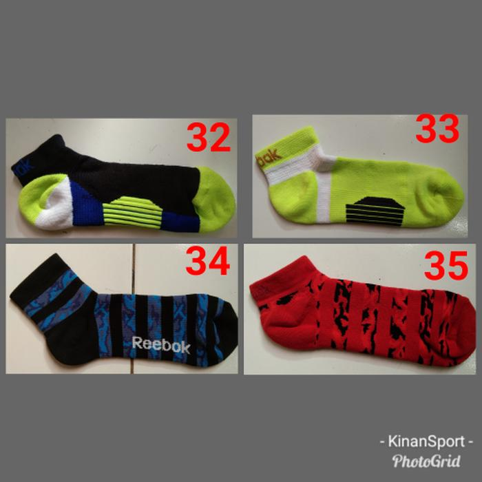 Sale - kaos kaki reebok original kaos kaki olahraga KKOR01 Import