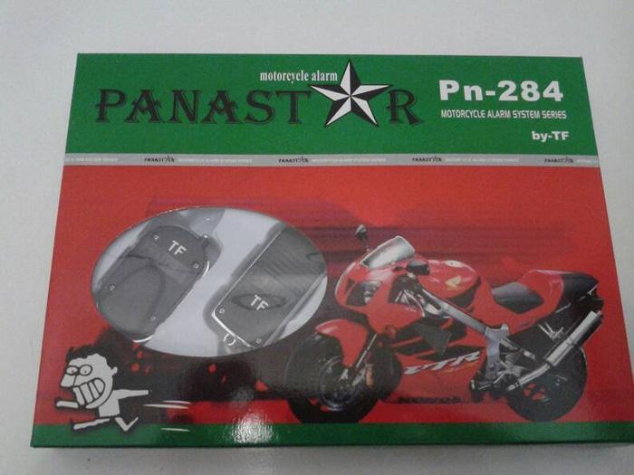 BEST SELLER!!! Alarm Motor Panastar + Remot + Cara Pasang Pengaman Kunci Anti System - kPCmc8
