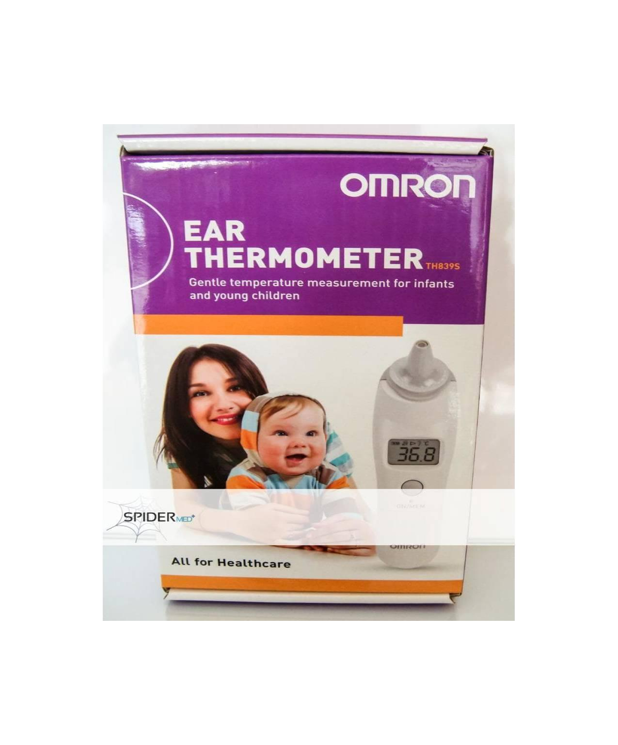 Omron Ear Thermometer TH-389S / Termometer Telinga Omron TH 389S