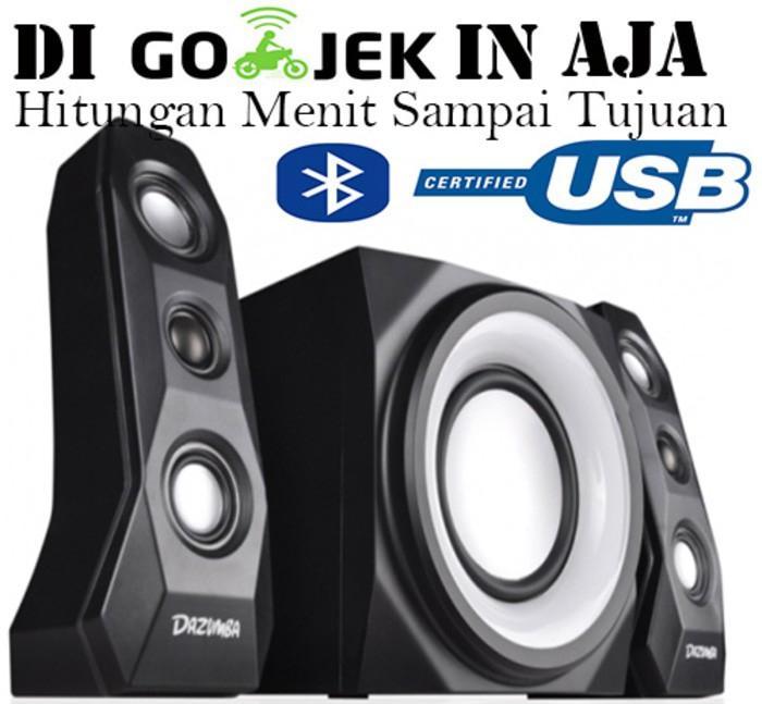 Speaker Dazumba Aktif Portable DW366 Bluetooth Subwoofer BASS