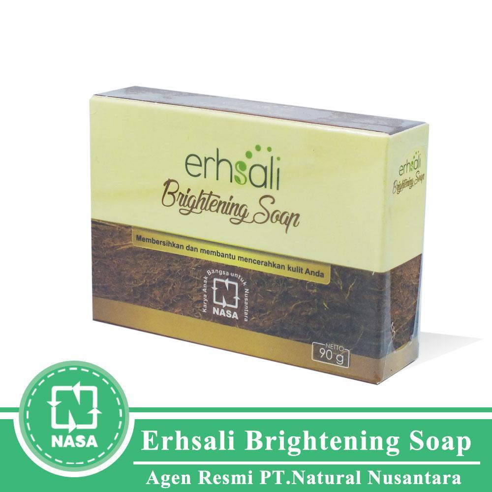Erhsali Brightening Soap - Perawatan Wajah - Sabun Wajah - Menghaluskan Wajah