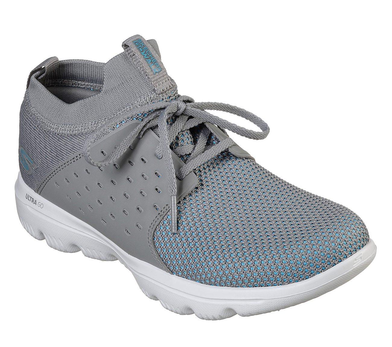 Skechers - GOwalk Evolution Ultra Sepatu Sneakers Wanita - Abu-Abu 9de64d88be