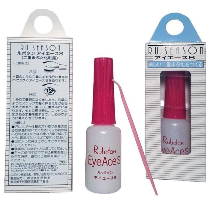 Rubotan Eye Ace S Original - Lem Bulu Mata Putih