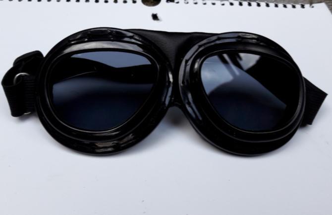 Kacamata Helm / Helm Bogo Cakil Pilot Retro Vespa Aviator Pilot Goggle