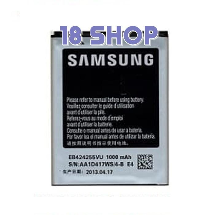 Batere baterai Battery Samsung S3850 Corby 2 S5220 T669 EB424255VU Original . Baterai batre Samsung S3850 Corby 2 S5220 T669 EB424255VU Original